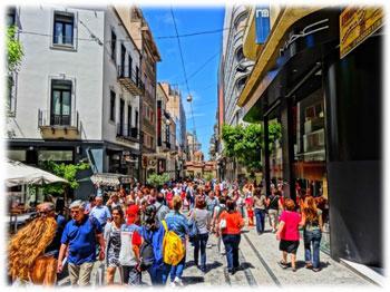 Walking-in-Athens