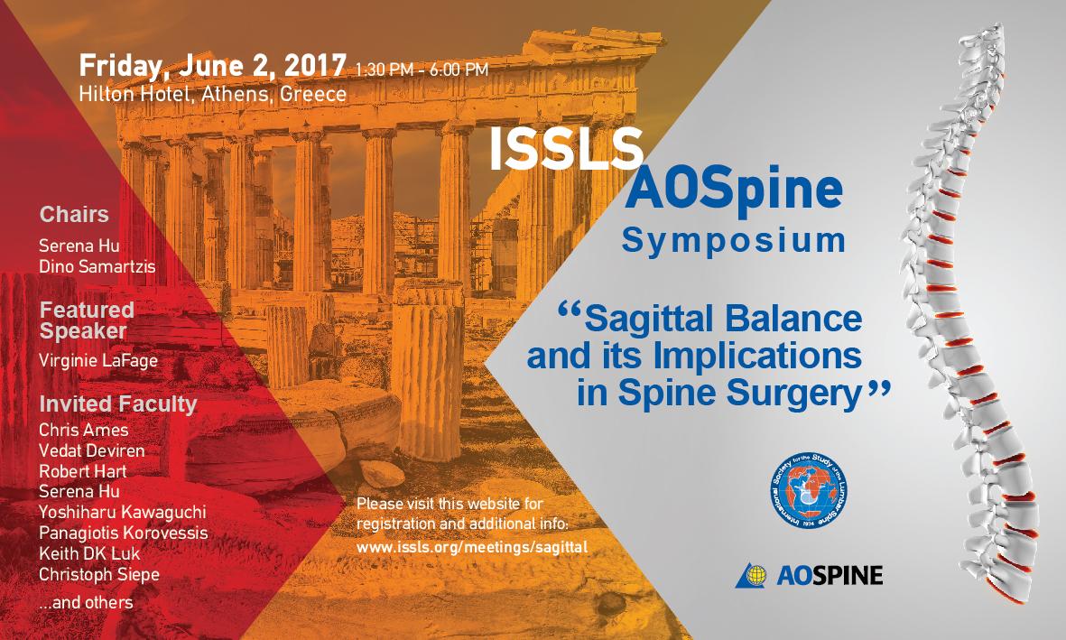 ISSLS-AOSpine Symposium - Flyer