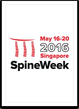 2016 ISSLS Meeting/Spineweek, Singapore May 16-20