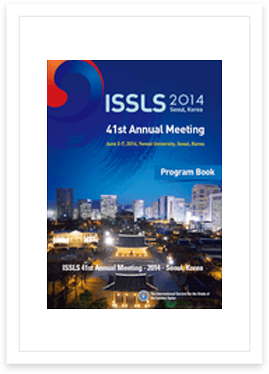 2014 ISSLS Meeting, Seoul, Korea, June 3-7